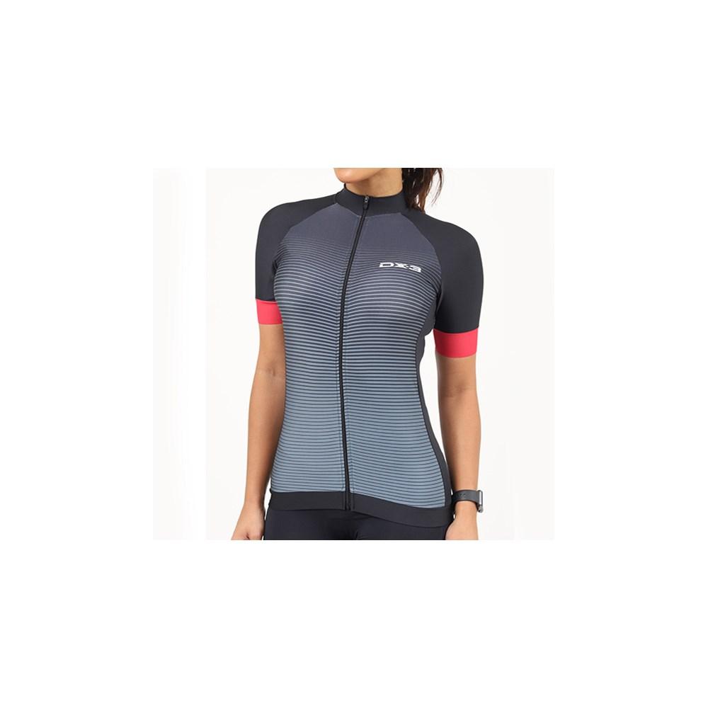 Camisa Ciclismo DX-3 Feminina Fast 01