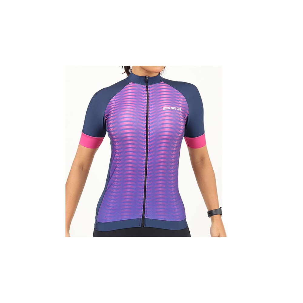 Camisa Ciclismo DX-3 Feminina Fast 02